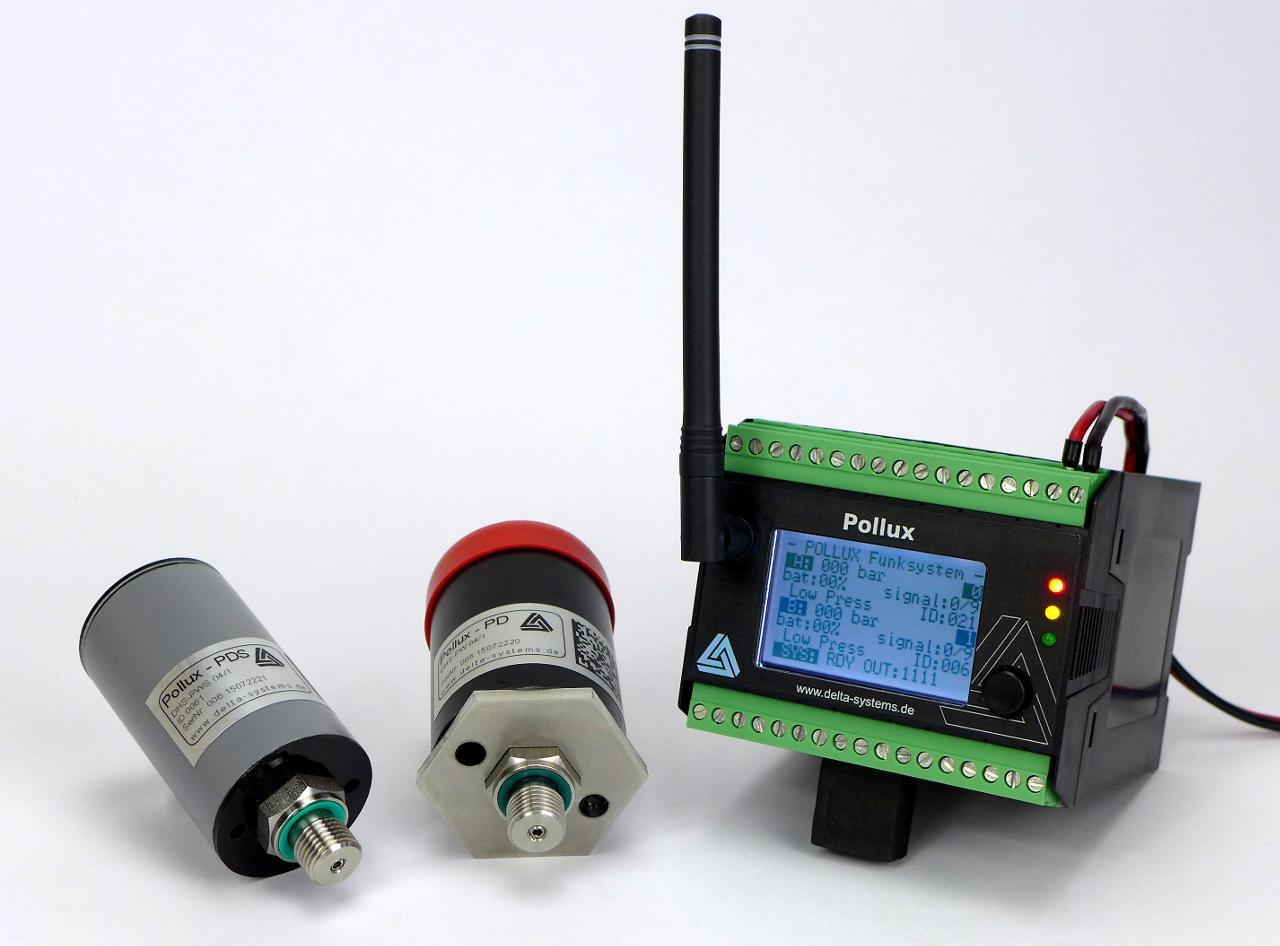 Pollux Maschineninterface mit Drucksensoren